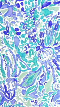 Blue Preppy Wallpaper 6
