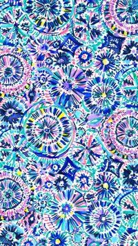Blue Preppy Wallpaper 11