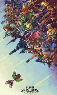 Super Smash Bros Ultimate Wallpaper 9